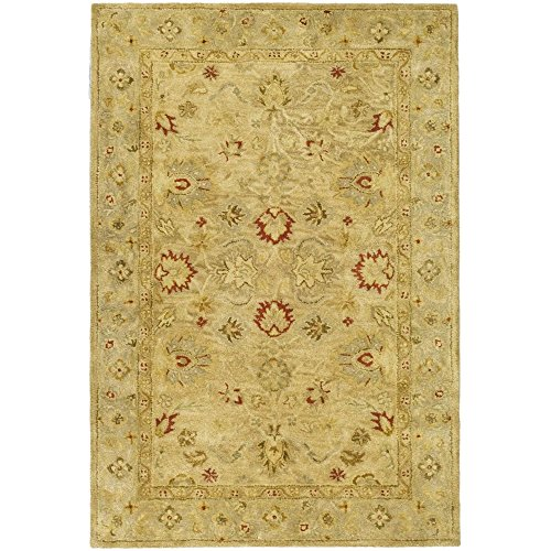 Safavieh Antiquities Collection AT822B Handmade Traditional Oriental Brown and Beige Wool Area Rug (3′ x 5′)