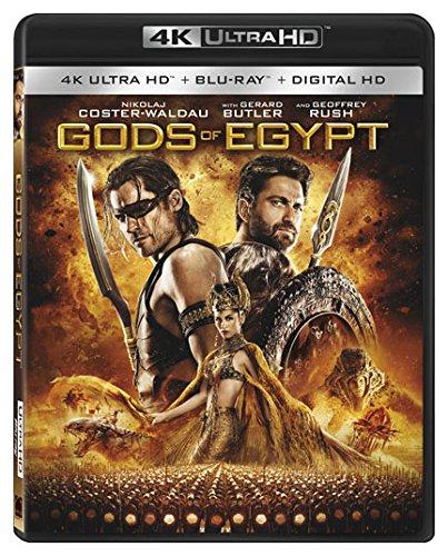 4K Blu-ray : Gods of Egypt (2 Pack, 2 Disc)