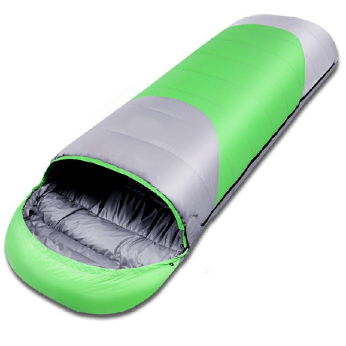 Addora Sacos 0 ℃ A -35 ° C Sobres Plumas Sacos Addora De Dormir 1800g Adultos Sacos De Dormir,Verde e31f9e