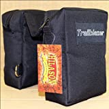 HILASON Black 600D Poly Insulated Saddle Horn Bag with 2 Compartments