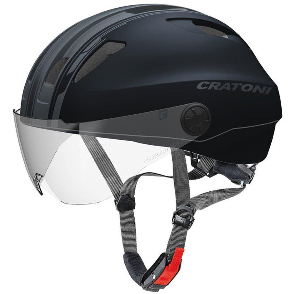 Cratoni Evo Fahrradhelm schwarz anthrazit matt Kopfumfang M L   57-61cm 2018 Mountainbike Helm Downhill