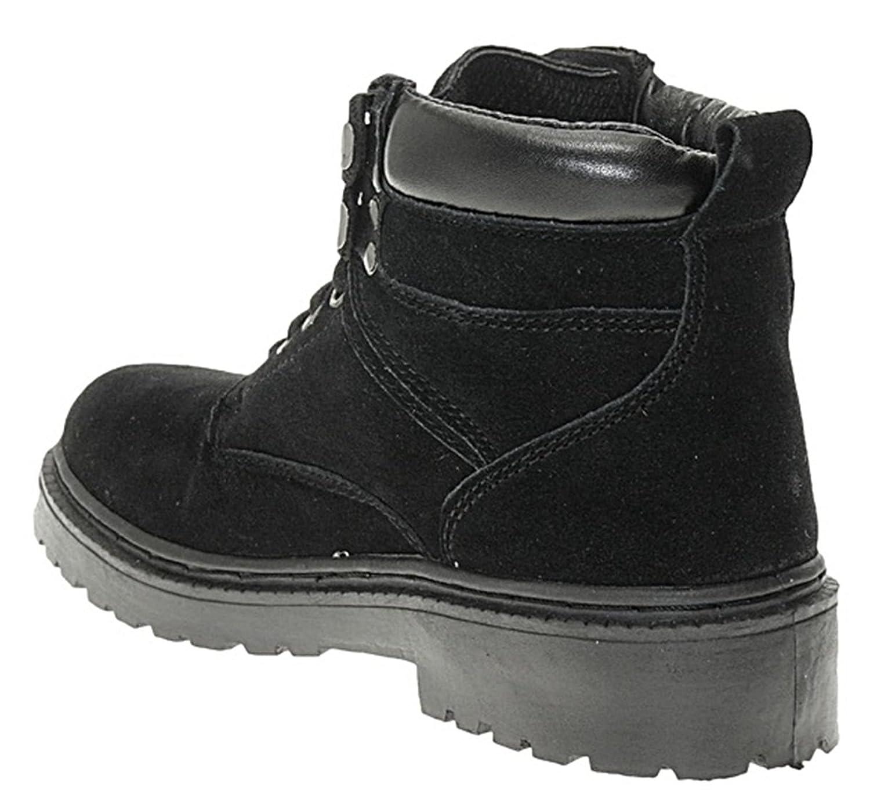 art 205 Leder Wanderschuhe Trekking Schuhe Bergschuhe Outdoor Stiefel UNISEX, Schuhgröße:42
