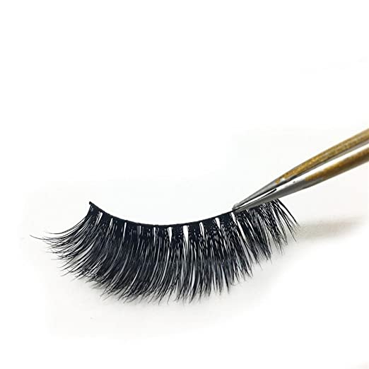 Amazon.com : YJYdada 1Pair Luxury 3D False Lashes Fluffy Strip Eyelashes Long Natural Party : Beauty