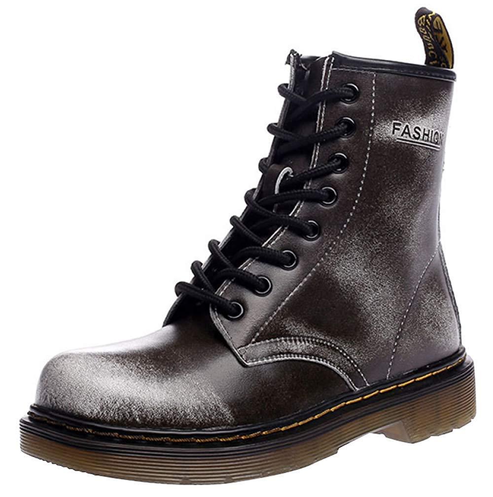 Männer Und Frauen Knöchel Martin Stiefel Warm Plus Baumwolle Schneeschuhe Liebhaber Schuhe (Farbe   9, Größe   45EU)