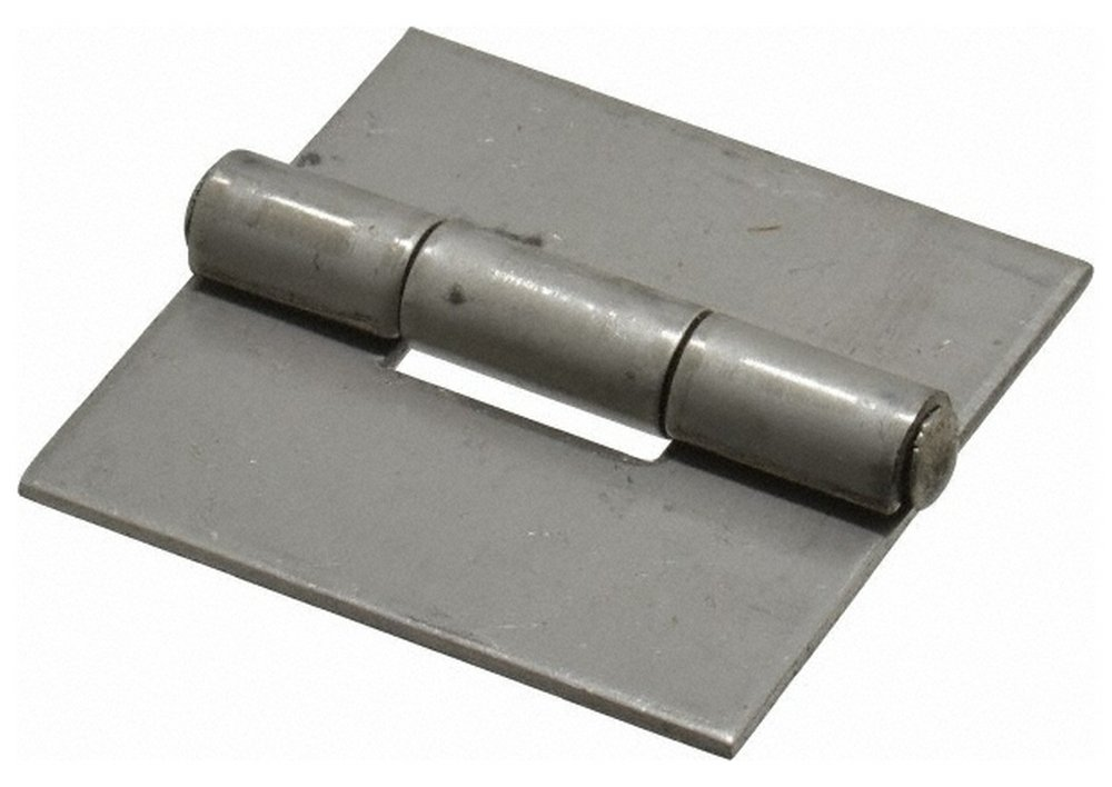 2'' Long x 2'' Wide x 0.075'' Thick, 316 Stainless Steel Commercial Hinge, 0.187'' Pin Diam