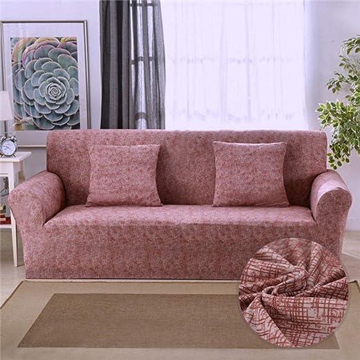 Hhjj Fundas de sofá elásticas con diseño Cruzado ...