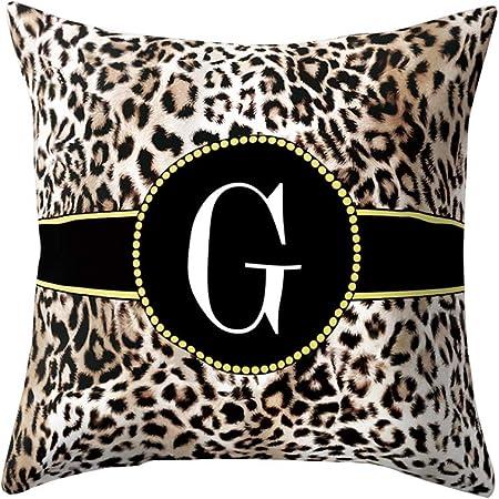 Cuscini Leopardati.Greatestpak Federa Per Cuscino 45 X 45 Cm Motivo Leopardato