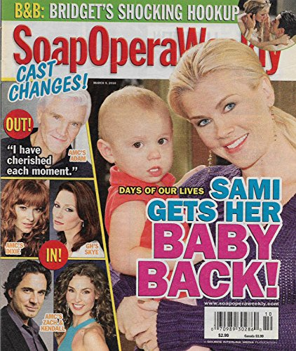 Alison Sweeney (Days of Our Lives) l David Canary l Cady McClain - March 9, 2010 Soap Opera Weekly