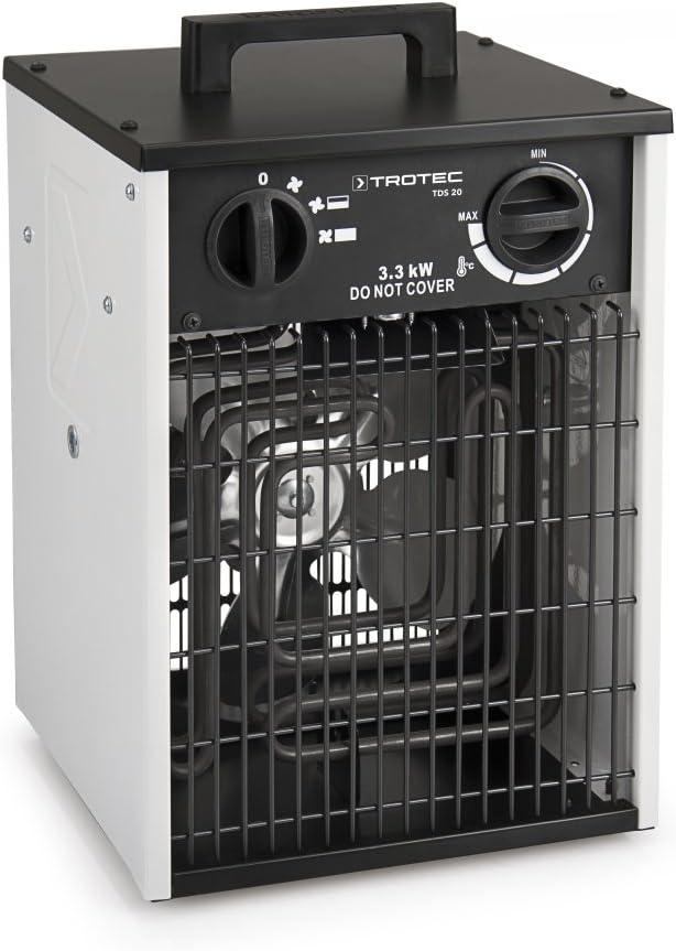 Mauk Elektrisches Heizger/ät 3kW mit 3 Leistungsstufen