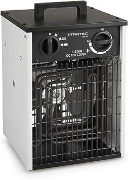Industrieheizlüfter 220V//3kW  mitSchutzkontaktstecker