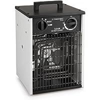 TROTEC Elektroheizer TDS 20 mit 3,3 kW Heizlüfter Heizgerät Bauheizer mit integriertem Thermostat