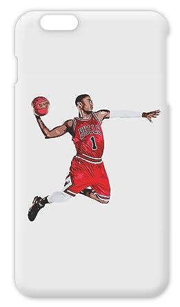Michael Jordon NBA Legend Dunking Camiseta de iPhone 6 Plus Plastic Case