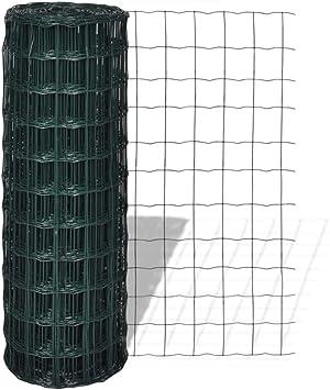 vidaXL Euro-Valla 10 x 1,5 m con Malla de 76 x 63 mm