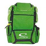 Latitude 64 DG Luxury E3 Backpack Disc Golf Bag (Green/Black)