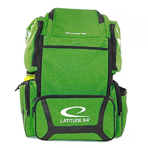 Latitude 64 DG Luxury E3 Backpack Disc Golf Bag (Green/Black) by Latitude 64