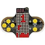 KKmoon DIY 電子 ゲームコンソールキット V2 ゲーム機キット はんだ練習キットアップグレードバージョン オープンソース付き