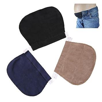 FOONEE extenseurs de Taille réglable, Taille élastique Bandeau de  Grossesse, Grossesse Pantalon Ceinture Compatible 3a744f8b9b2