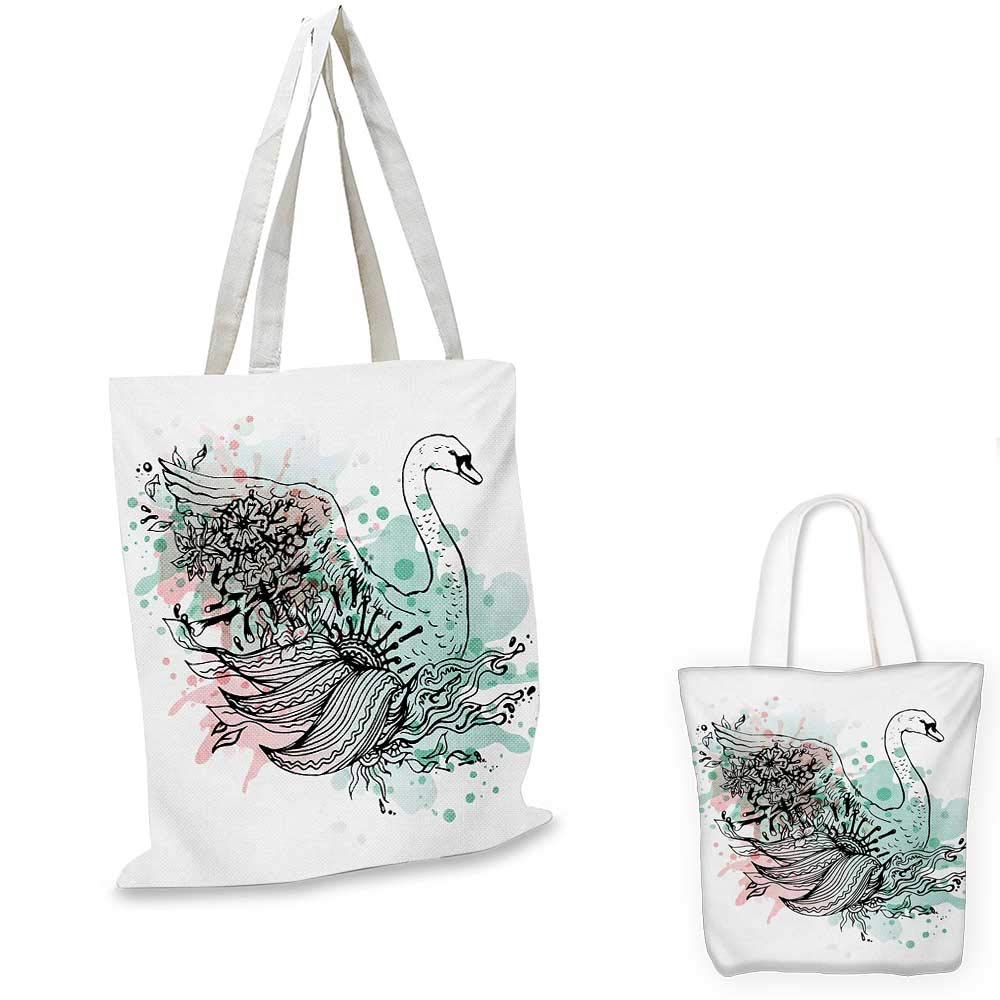 14x16-11 Animal canvas messenger bag Hipster Cat and Palms Ships Ocean Reflection Summer Time Image Art Print canvas beach bag Almond Green Black Teal