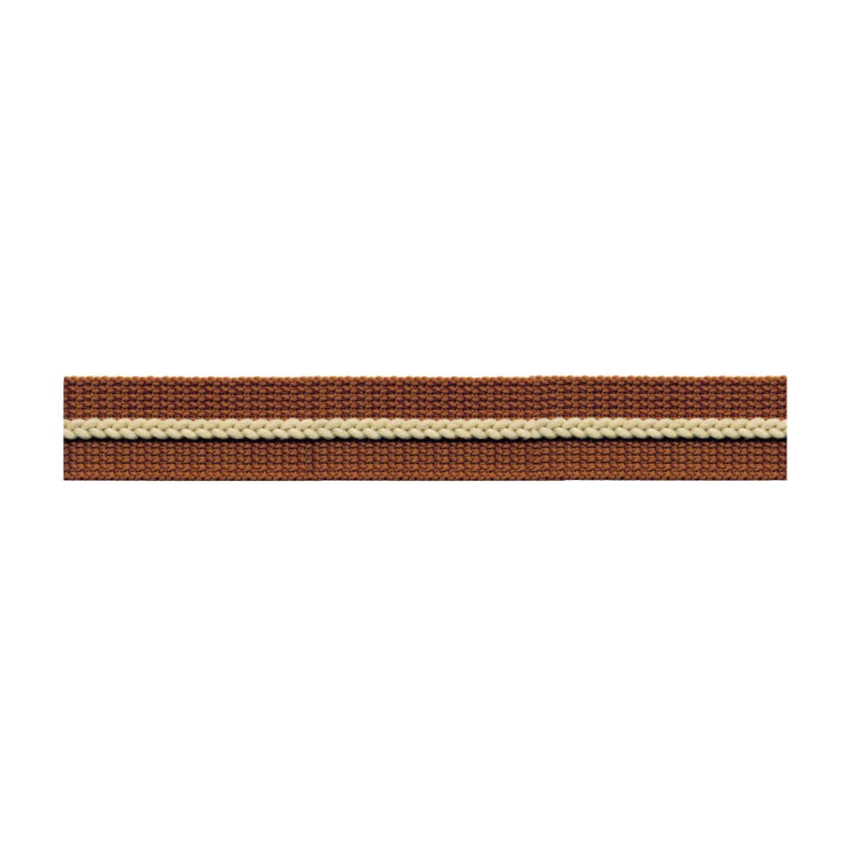 S.I.C. チェーンラインテープ 15mm C/#8 ダークセピア×サンドベージュ 1反(30m) SIC-1204   B07LG3SM13