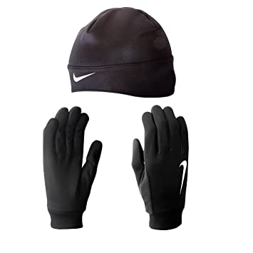 7ac29e43b92 Nike Men s Running Thermal Beanie Glove Set (Medium
