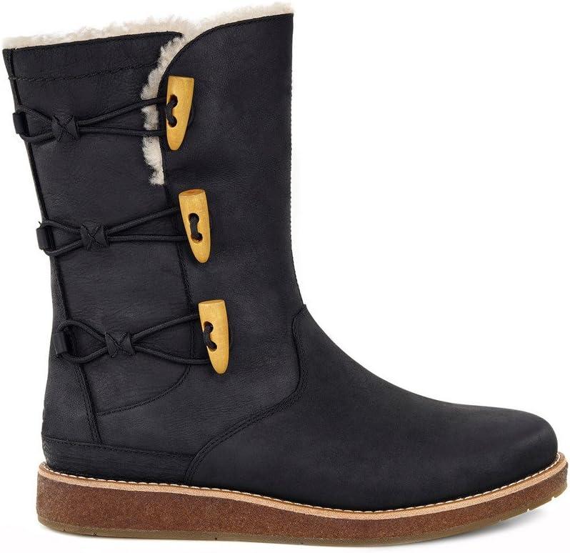 Amazon.com: UGG Women's Kaya Boot Black