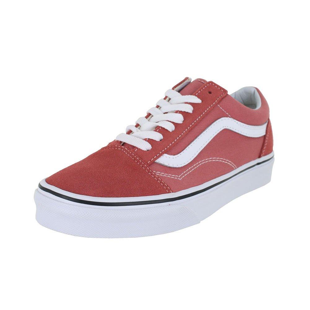 Vans Unisex Old Skool Classic Skate Shoes B071P2XKHB 7.5 M US Women / 6 M US Men|Faded Rose True White