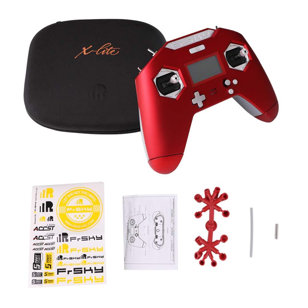 con Gimbals Mini Sensor, Link gratuito App, Modalit/à 2 per FPV RC Racing Drone Quadcopter LITEBEE FrSky Taranis X-Lite 2.4G 16CH Trasmettitore radio nero