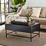 Mainstays Sumpter Park Coffee Table (Solid Black)