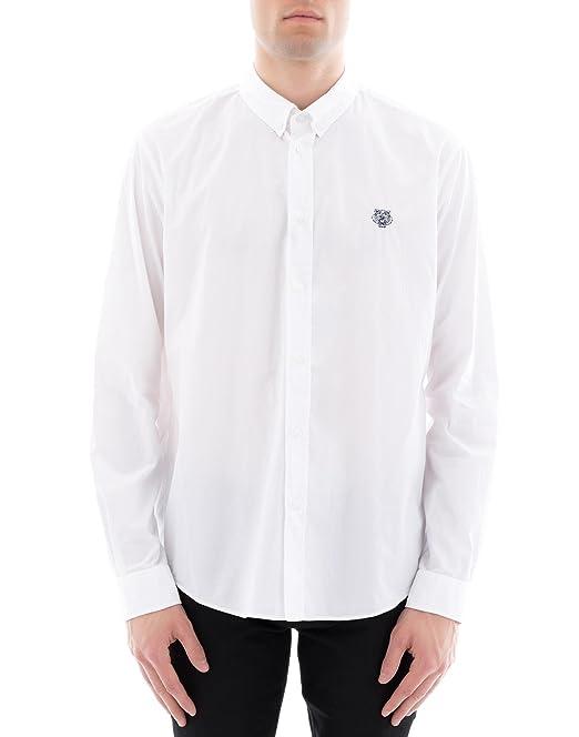 Kenzo Camisa Casual - para Hombre Blanco 50: Amazon.es: Ropa y accesorios
