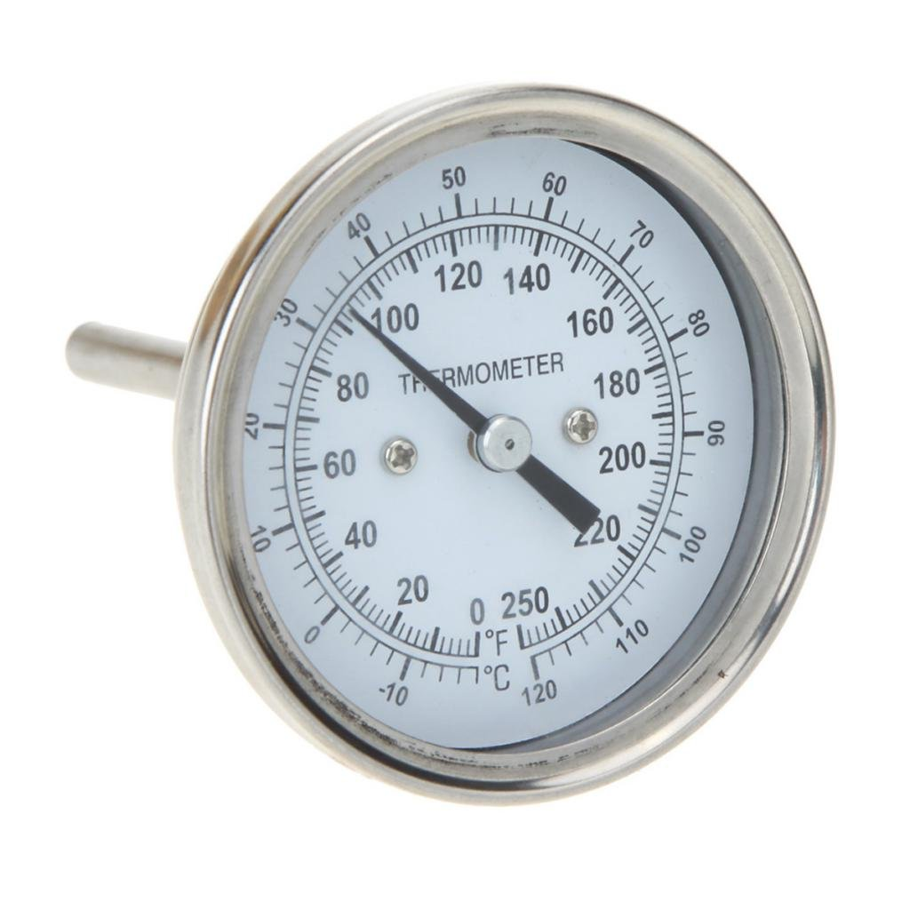 MagiDeal Cooking Oven Thermometer Stainless Steel Probe Food Meat Gauge -18 to 120°C