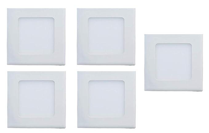 Buy Dmt Ceramic 3 Watt Led Ceiling Light Square Pop False