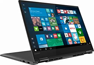 "Flagship Lenovo Yoga 730 2-in-1 15.6"" FHD IPS Touchscreen Business Laptop/Tabelt, Intel Quad-Core i5-8250U 8GB DDR4 256GB PCIe SSD Thunderbolt Fingerprint Reader Windows Ink Backlit Keyboard Win 10"