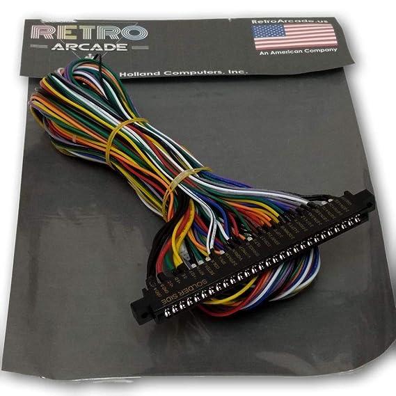 RetroArcade.us Jamma Board Standard Cabinet US Wiring Harness Loom on