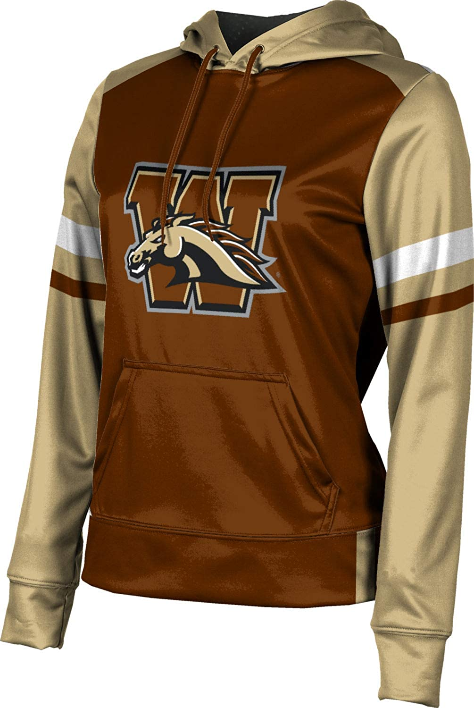 Old School School Spirit Sweatshirt ProSphere Western Michigan University Girls Pullover Hoodie
