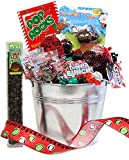 Candy Crate Naughty or Nice Christmas Candy Pail Assortment