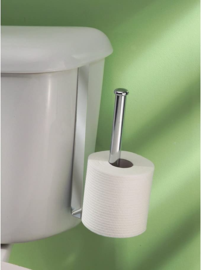 Idesign Classico Over The Tank Toilet Roll Holder Amazon Co Uk Kitchen Home