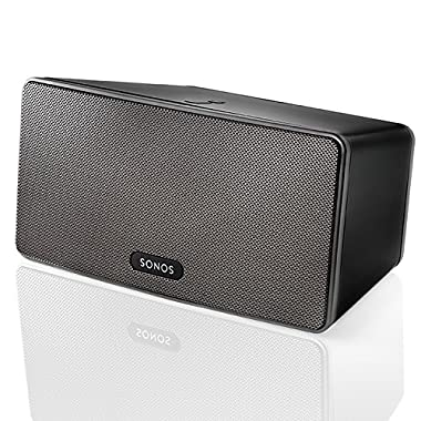 SONOS PLAY:3 Smart Speaker for Streaming Music (Black)