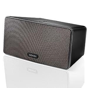 SONOS PLAY:3 Smart Speaker for Streaming Music (Black)
