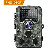 Distianert 16MP 1080p Trail Game Wildlife camera per il controllo e la casa di sorveglianza di sicurezza–nero