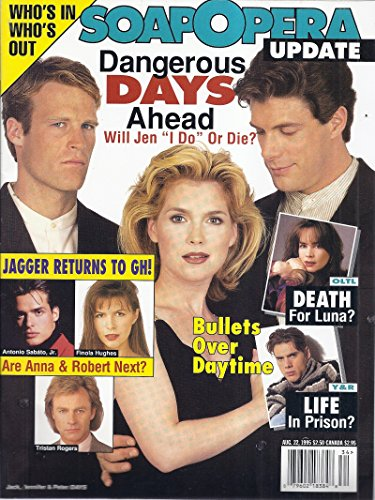 Soap Opera Update (August 22, 1995 - Cover: Jason Brooks, Melissa Reeves & Mark Valley)