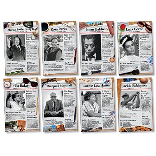 Social Studies Bulletin Board (North Star Teacher Resource Civil Rights Pioneers Bulletin Board Set)