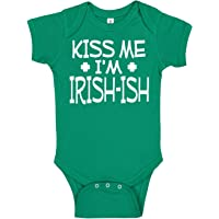 Aiden's Corner Handmade Baby Boy and Baby Girl St Patrick's Day Outfits - Cute Funny Green Irish St Paddy's Day Bodysuits