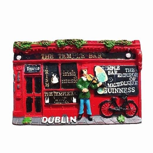 MUYU Magnet Dublin Irlanda 3D imán de Nevera turista Recuerdo de ...