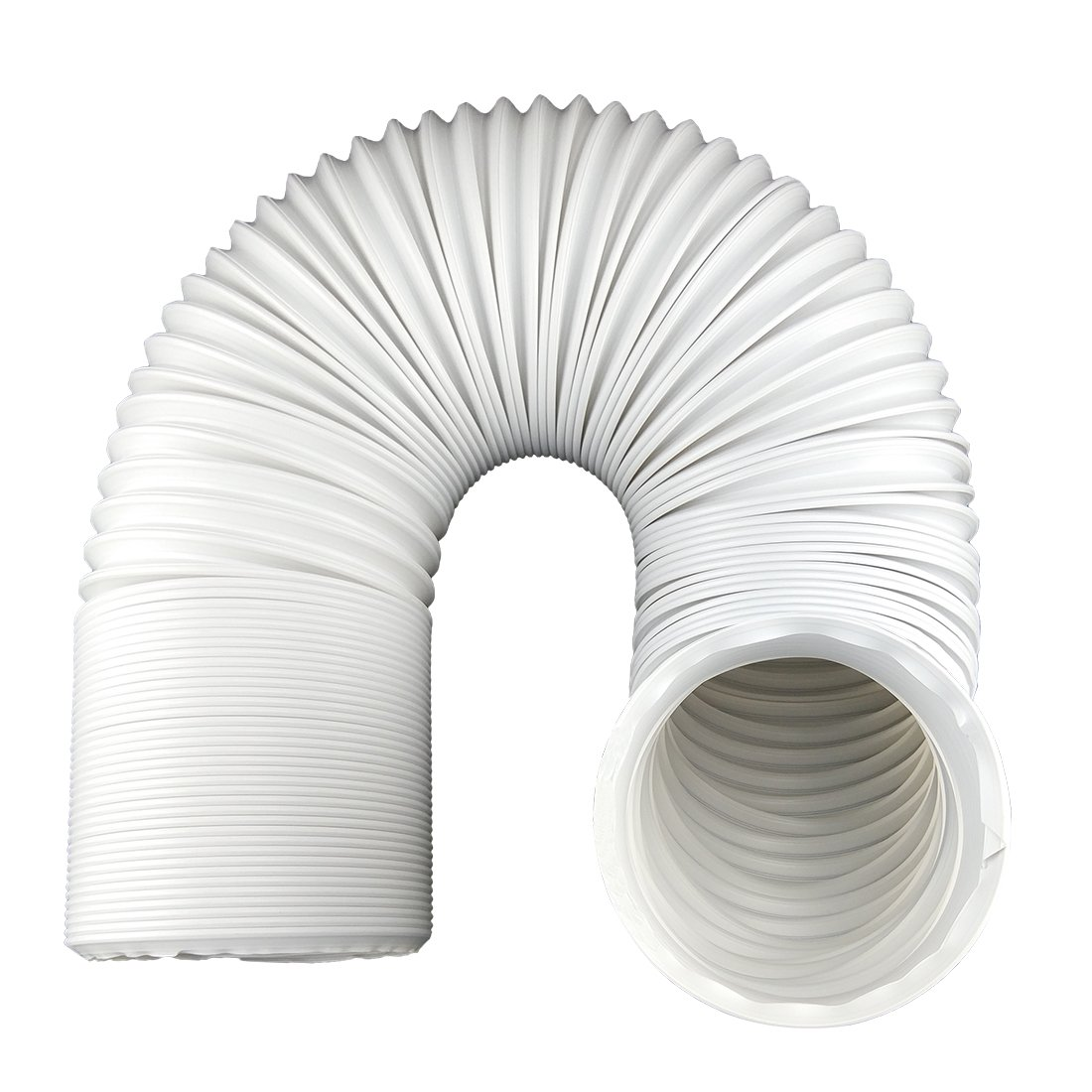 TuhooMall Portable Air Conditioner Exhaust Hose 5 Inch Diameter Counterclockwise (59 Inch Length)