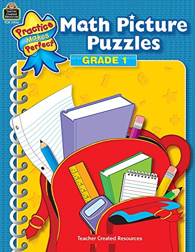 - Math Picture Puzzles: Gr 1 (Practice Makes Perfect)