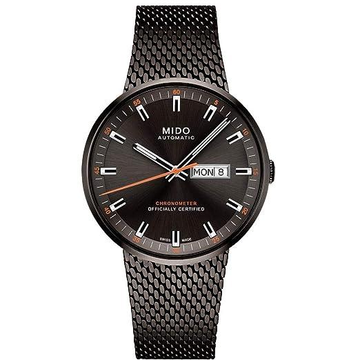 c5b6196ac87a Mido Commander Icone Reloj de Hombre automático 42mm M031.631.33.061.00   Amazon.es  Relojes