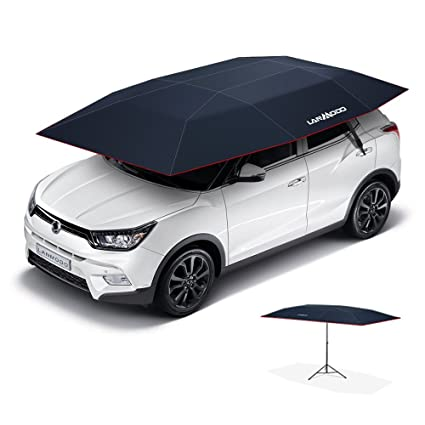 Amazon Com Lanmodo Car Tent Automatic Car Umbrella Tent Also Can Be
