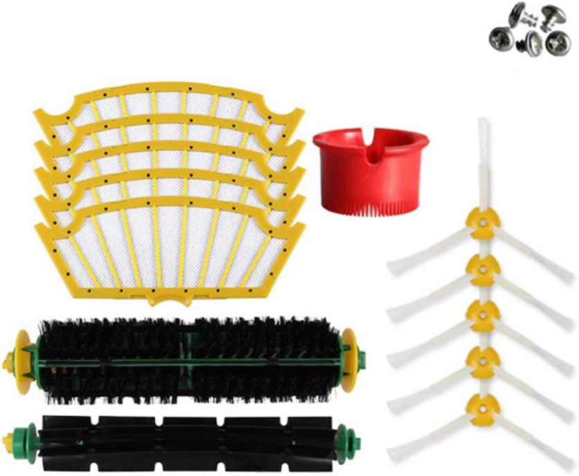 WAFJAMF Replenishement Kit for iRobot Roomba 500 Series, Replacement Parts (500 Series)