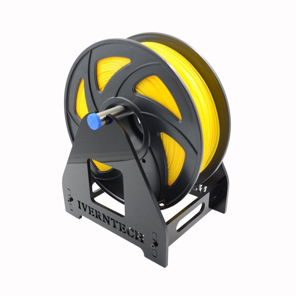Iverntech - Soporte para filamentos de impresora 3D, acrílico, 1 ...