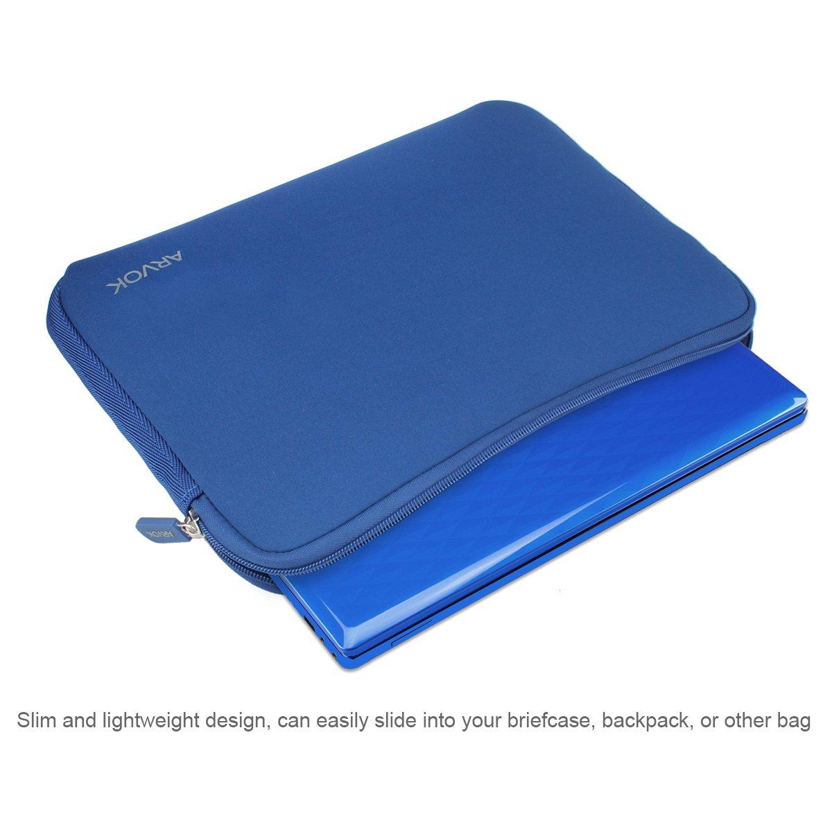 Arvok 17 Pollici Sleeve per Laptop//Impermeabile Custodia di Neoprene Borsa//Caso Protettiva//Borsa da Trasporto per MacBook//Acer//dell//Lenovo//HP//Samsung//Sony//Toshiba//Ultrabook
